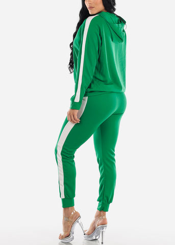 Activewear Green Jacket & Pants (2 PCE SET)
