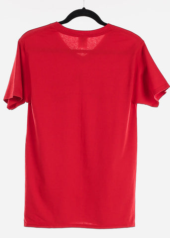 "Red Graphic T-Shirt ""Beautiful Lashes"""
