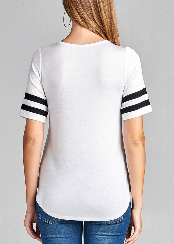 Casual White Top at Discount Prices