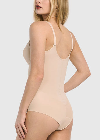 Image of Full Body Nude Shapewear Bodysuit