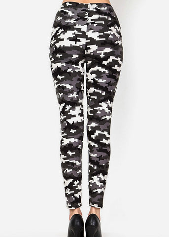 Image of Highwaisted Camouflage Leggings