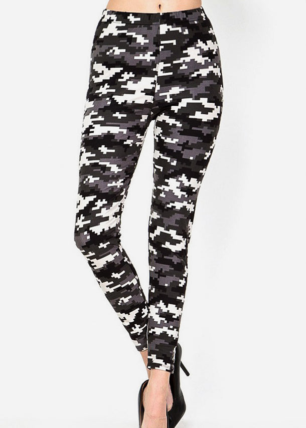 Highwaisted Camouflage Leggings