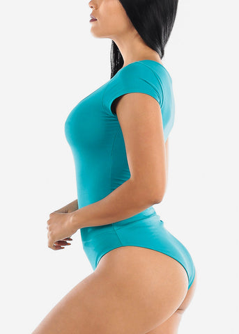 Image of Essential Teal Bodysuit