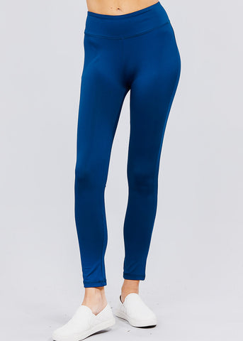 Blue Activewear Leggings