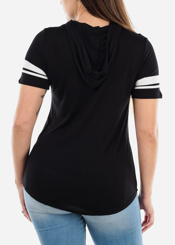"Image of Black Graphic Top ""XOXO"""