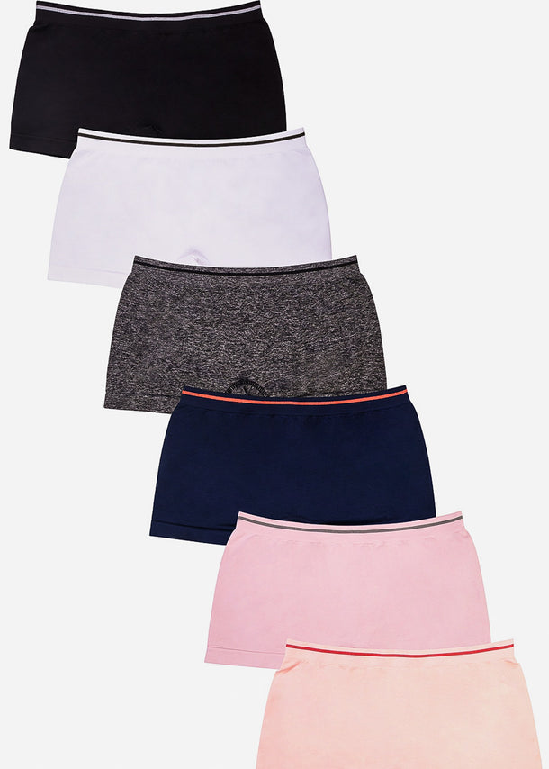 ONE SIZE BoyShort Panties (12 PACK)