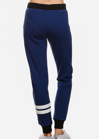 Image of Drawstring Waist Royal Jogger Pants