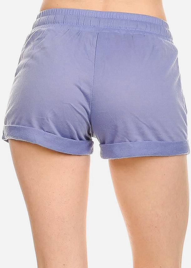 Relax Fit Light Blue Shorts