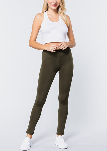Olive Activewear Leggings