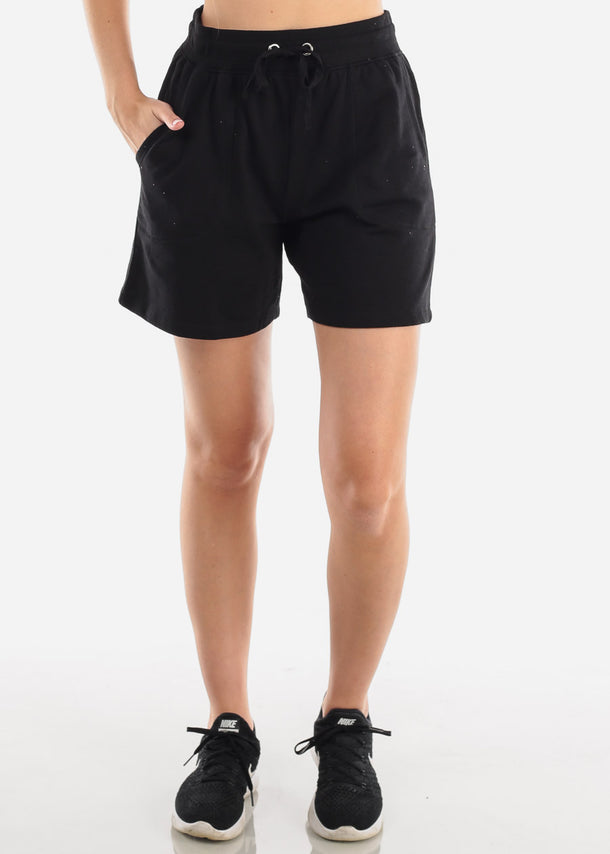Activewear Black Shorts