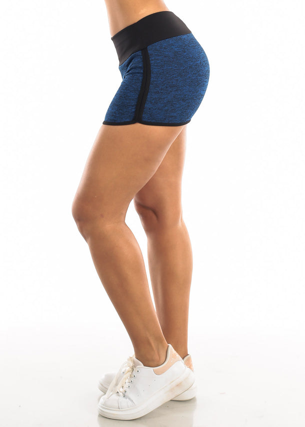 Activewear Heather Blue Shorts