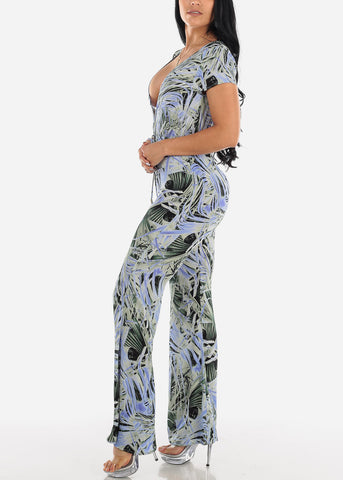 Tropical Lightweight Jumpsuit