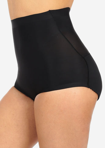 Black High Waist Butt Booster Underwear