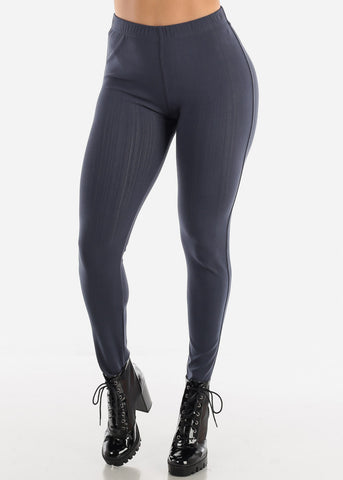 Charcoal Skinny Jeggings