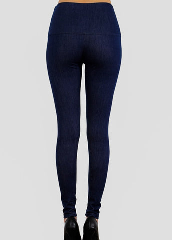 Image of Pull On Denim Leggings