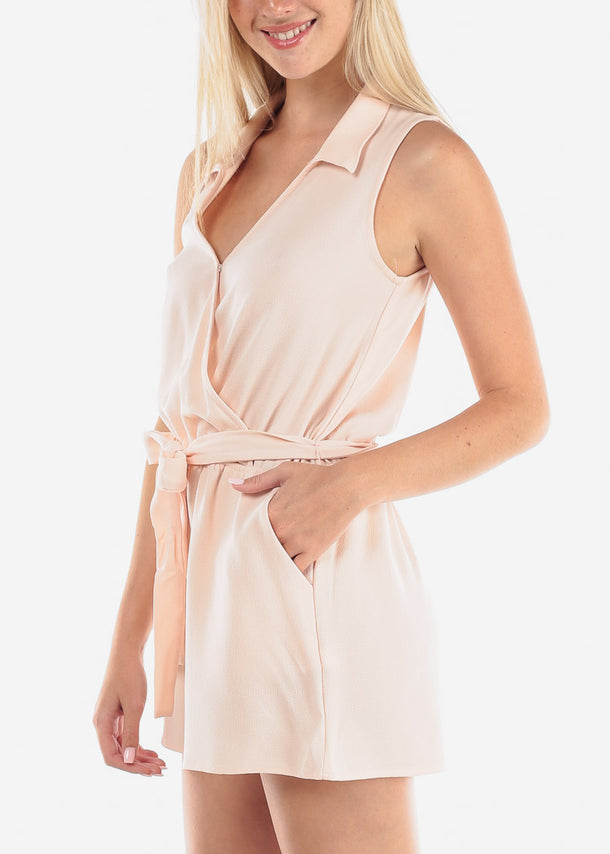 Stylish Blush Romper
