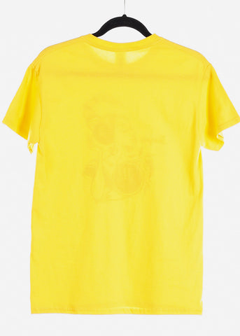 "Yellow Graphic T-Shirt ""Scorpio"""