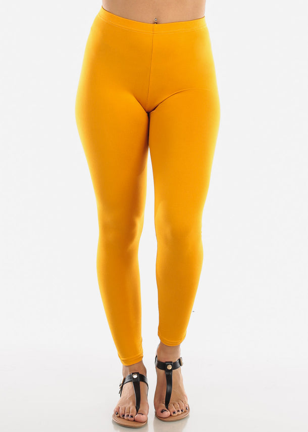 Basic Mustard Leggings L140MUST