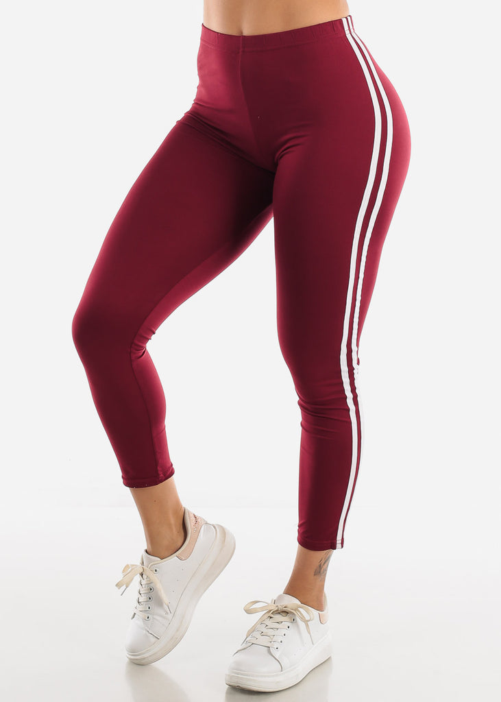 Burgundy Activewear Set ( 2 PCE SET )