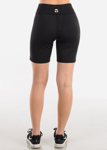 Black Activewear Biker Shorts at Discount Prices