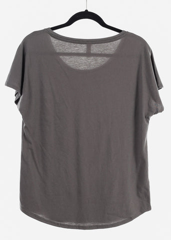 "Image of Charcoal Graphic Top ""Femme Forever"""