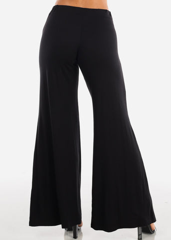 Sexy Casual Trendy High Waisted Wide Legged Super Stretchy Wide Legged Pants For Women Ladies Junior On Sale