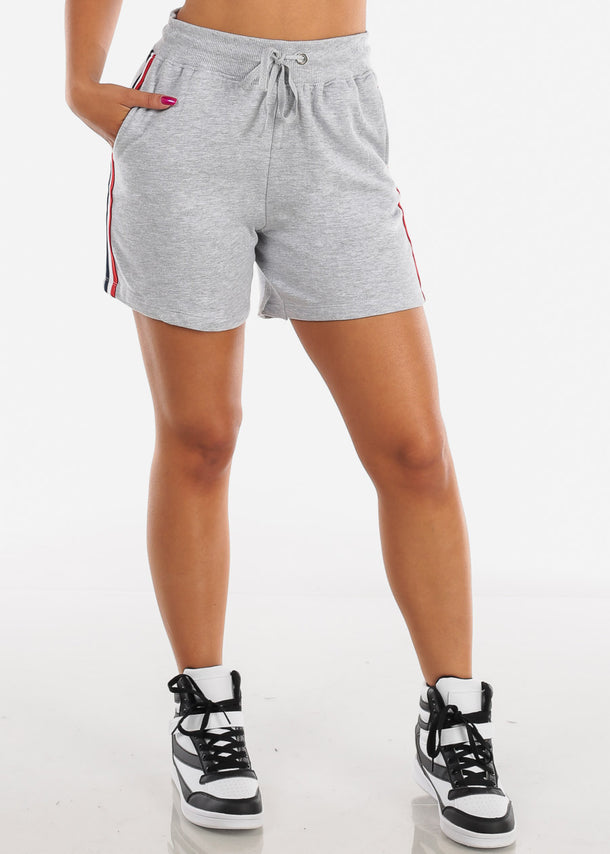 Activewear Light Grey Shorts