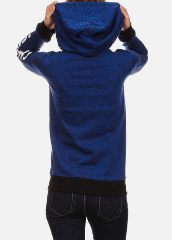 "Royal Blue Hoodie ""Cheers"""
