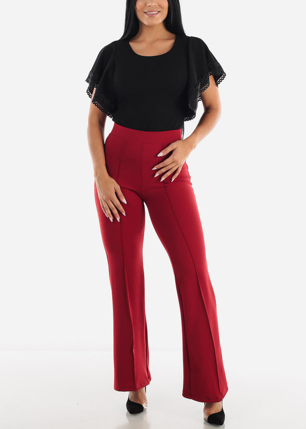 Brick Wide Legged Pants