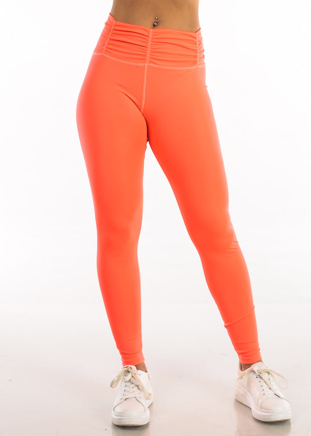 Activewear High Rise Neon Green Leggings