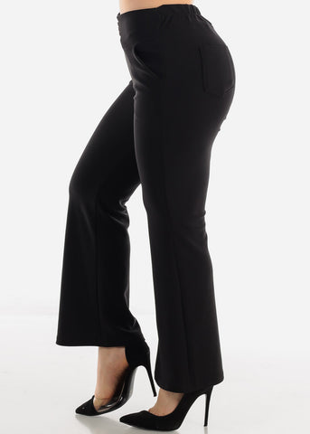 Black Ankle Length Pants