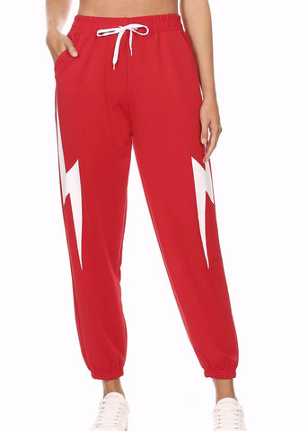 Image of Red Jogger Pants