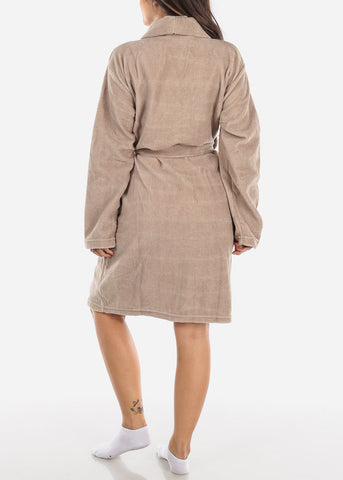 Image of Khaki Fleece Robe