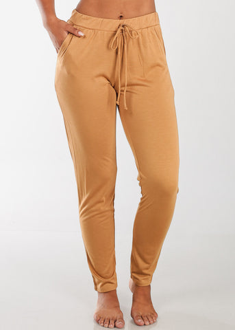 Cheap Stretchy Mustard Pants