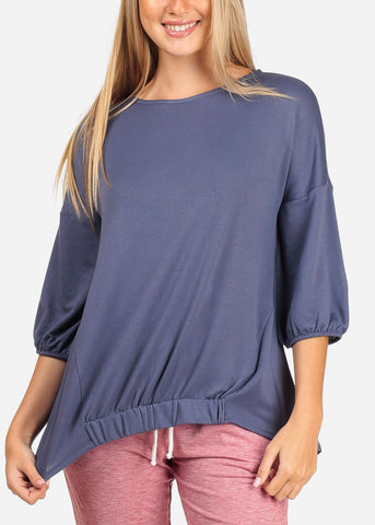Cheap Navy Top