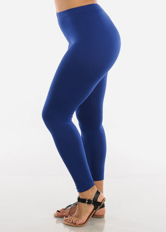 Image of Basic Royal Blue Leggings