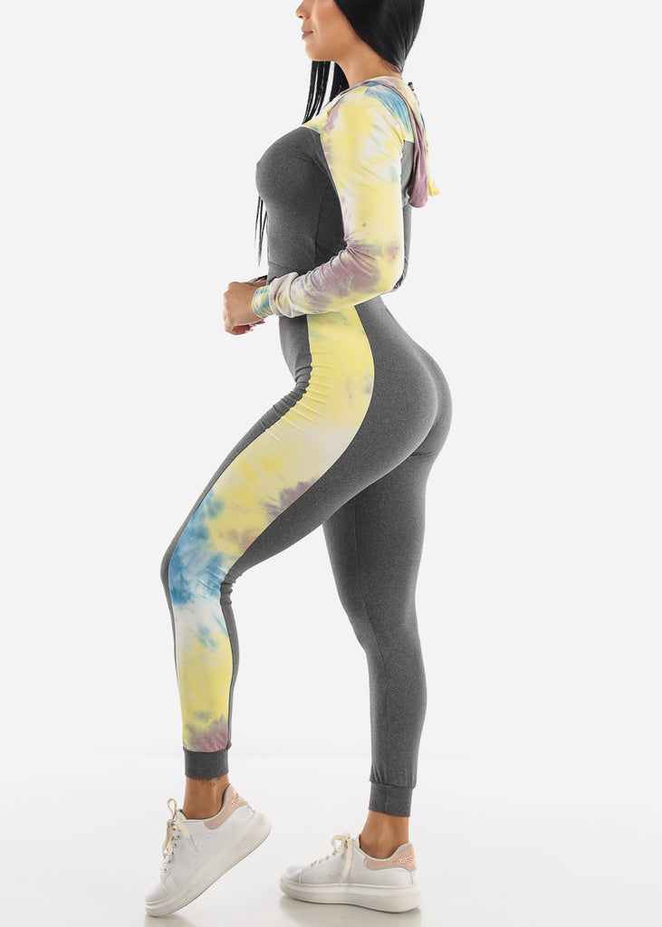 Seamless Hoodie and Jogger Set