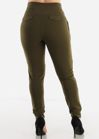 Image of Olive Dress Pants