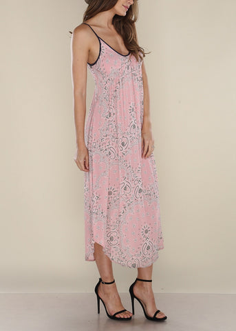 Image of Pink Bandana Dress