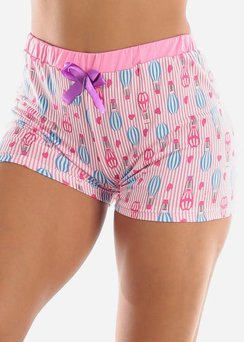 Pink Top & Shorts (2 PCE PJ SET)