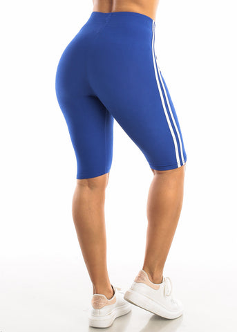 Image of Activewear Royal Blue Bermuda Shorts