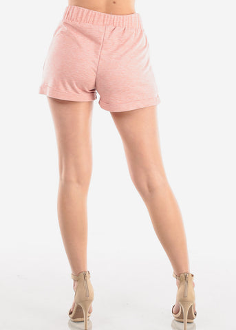 Cute High Rise Rose Shorty Shorts