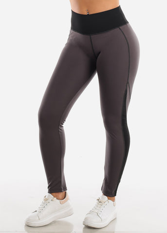 Image of Activewear High Rise Black Leggings
