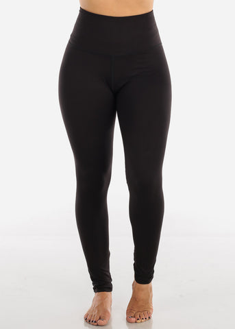 Image of High Waisted Black Leggings