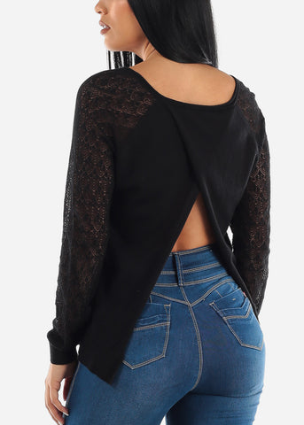 Image of Open Back Light Sweater