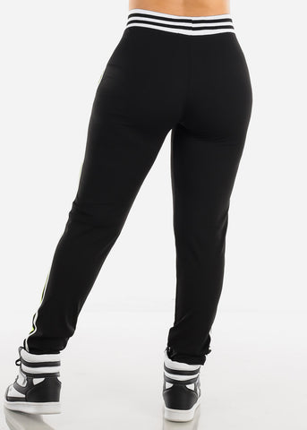 Image of Activewear Plus Size Green & Black Pants
