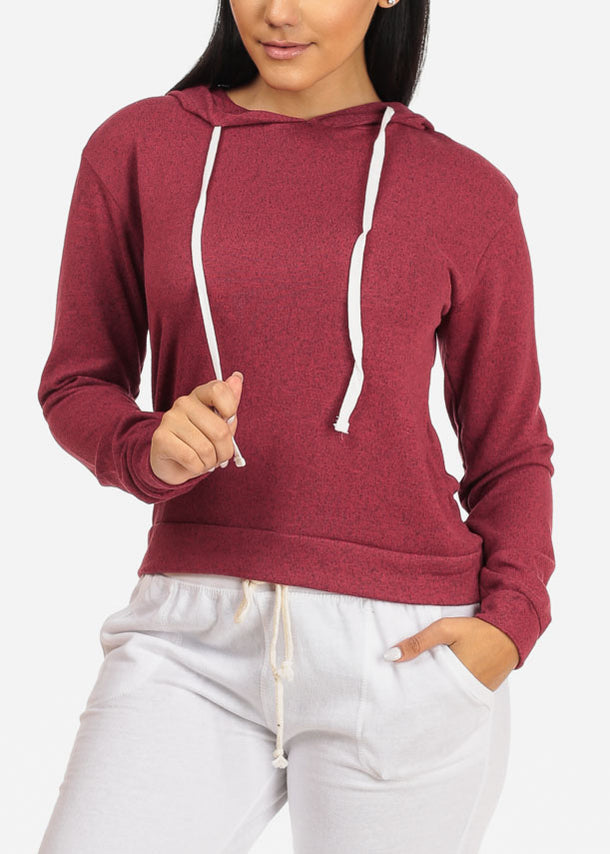 Hooded Sweatshirt (Rose)