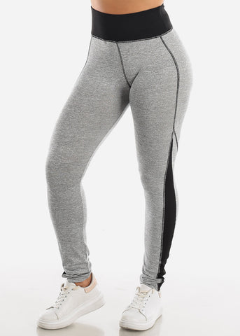 Image of Activewear High Rise Light Grey Leggings