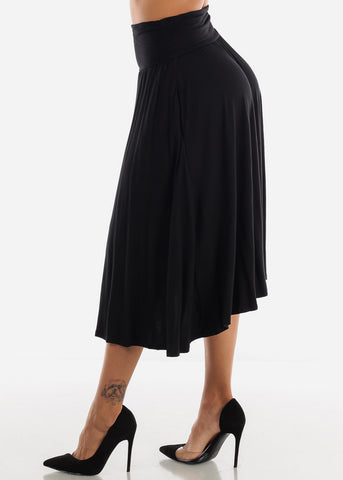 Image of Black Multi Way Dress Or Skirt