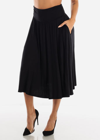 Black Multi Way Dress Or Skirt